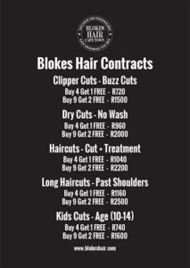 Blokes Hair Contracts